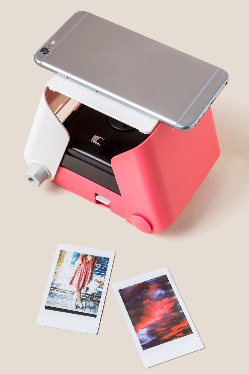 Máy in ảnh bỏ túi Kiipix màu Hồng + kèm 10 tấm ảnh instax mini Nhật Bản