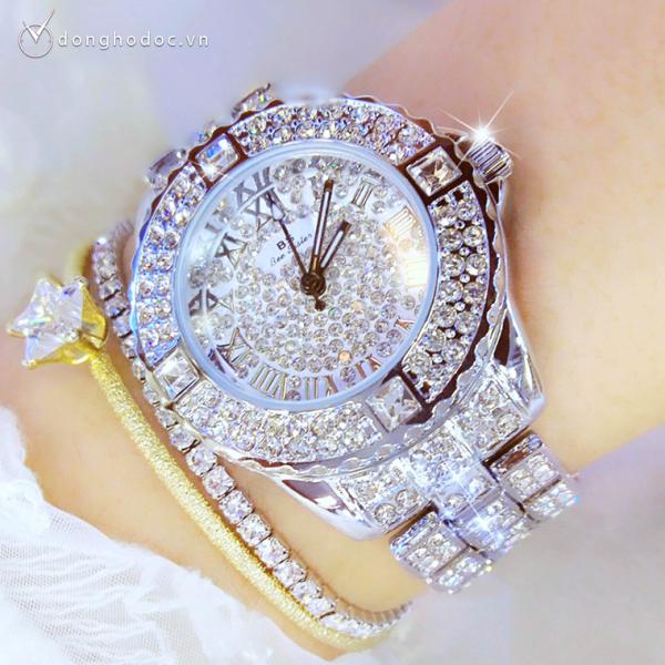 Đồng hồ nữ BS BEE SISTER Đính đá siêu đẹp + Tặng Hộp & Pin - Đồng hồ nữ hàn quốc, Đồng hồ nữ thời trang, Đồng hồ nữ đẹp, Đồng hồ nữ thể thao, Đẹp,Sang trọng,Đẳng cấp, Bền, Giá Sốc, Đồng hồ nữ cao cấp, Đồng hồ nữ