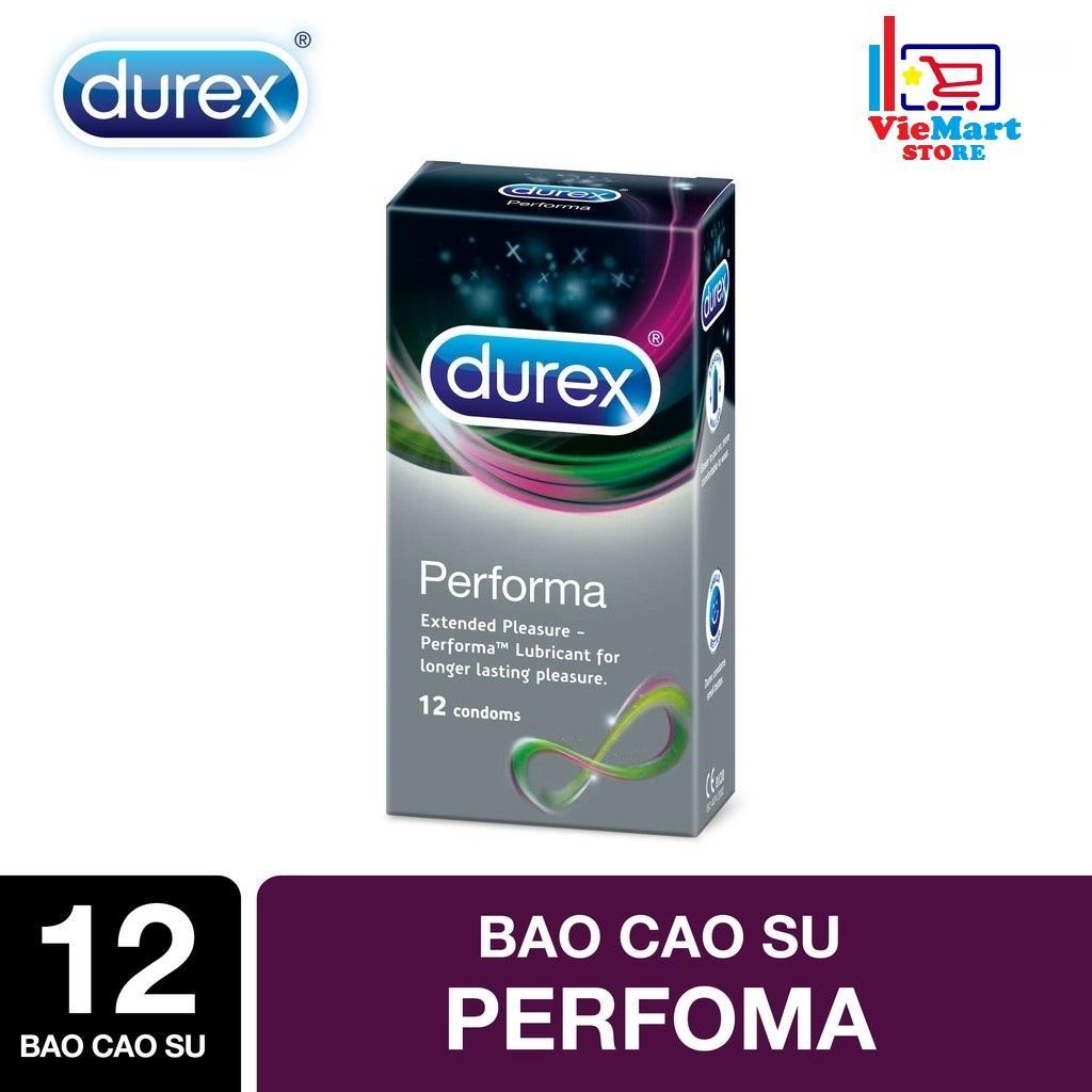 Bao cao su Durex Performa 12s - Hãng phân phối thức