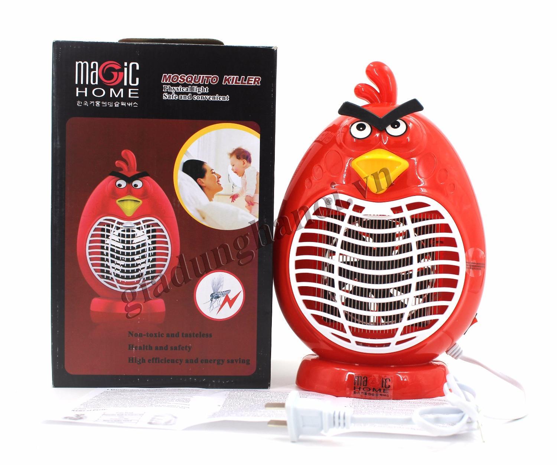 Đèn bắt muỗi hình thú Magic Home Led - Angry Bird , đèn ngủ bắt muỗi, máy bắt muỗi, diệt...