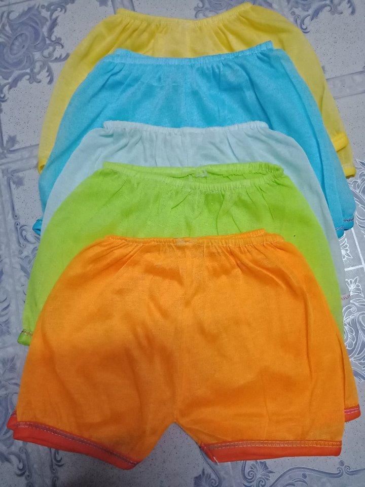 Quần đùi màu trẻ em(combo 10 quần) ĐOÀI SƠN