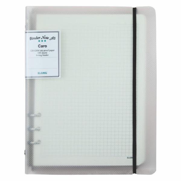 Sổ Caro file nhựa kẹp còng A5 - 100 tờ ; MS: 994
