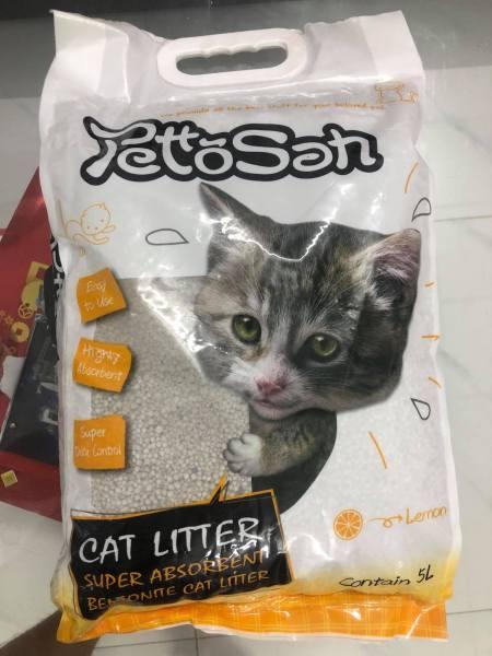 Cát vệ sinh cho mèo - cat Nhật 5L - Cat Letter