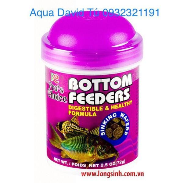 Thức ăn Bottom Feeders dành cho cá cảnh (72g), cam kết hàng đúng mô tả, chất lượng đảm bảo, an toàn cho vật nuôi
