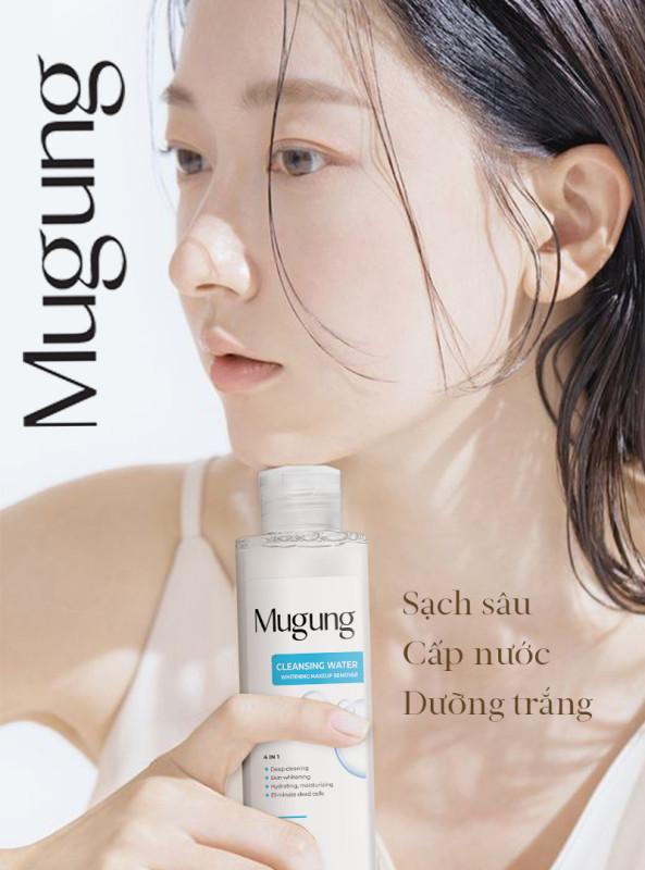Mugung Korea Nước Tẩy Trang Makeup Sạch Sâu Cấp Nước Dưỡng Trắng ngăn ngừa bụi bẩn sâu trong lỗ chân lông 100ml/300mL nhập khẩu