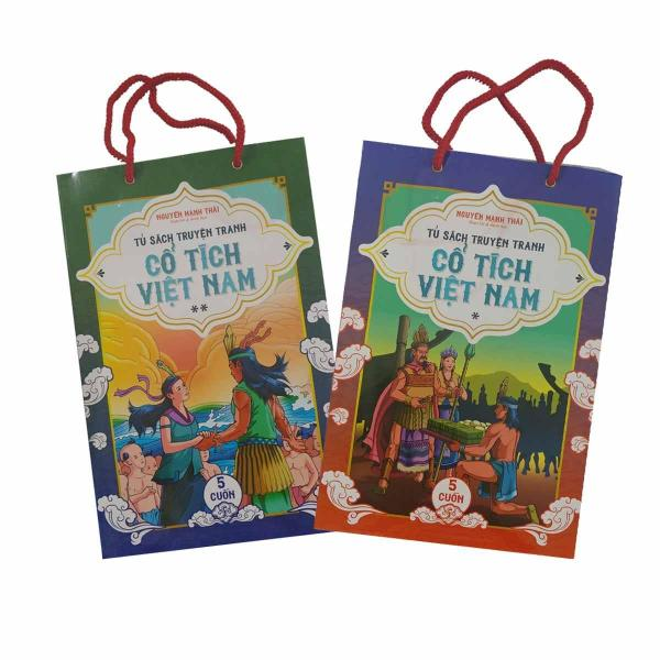 Sách - Tủ Sách Truyện Tranh Cổ Tích Việt Nam (Trọn Bộ 10 Cuốn)