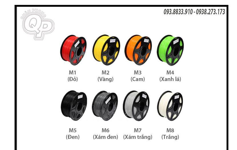 Giá Nhựa in PLA 1.75mm loại 1KG