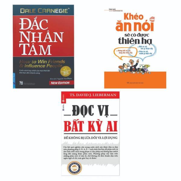 Combo 3 Cuốn Đọc Vị Bất Kỳ Ai + Khéo Ăn Nói Sẽ Có Được Thiên Hạ + Đắc Nhân Tâm