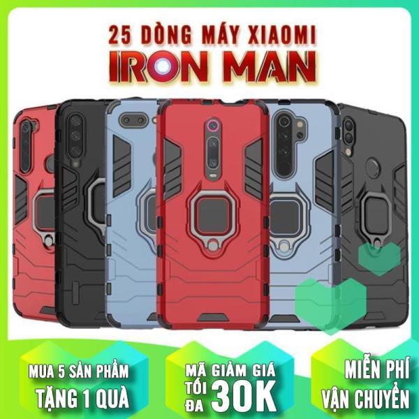 Ốp lưng chống sốc iRon Man iRing cho nhiều dòng máy Xiaomi - Mi - Redmi - Redmi Note - Poco (cập nhật liên tục)