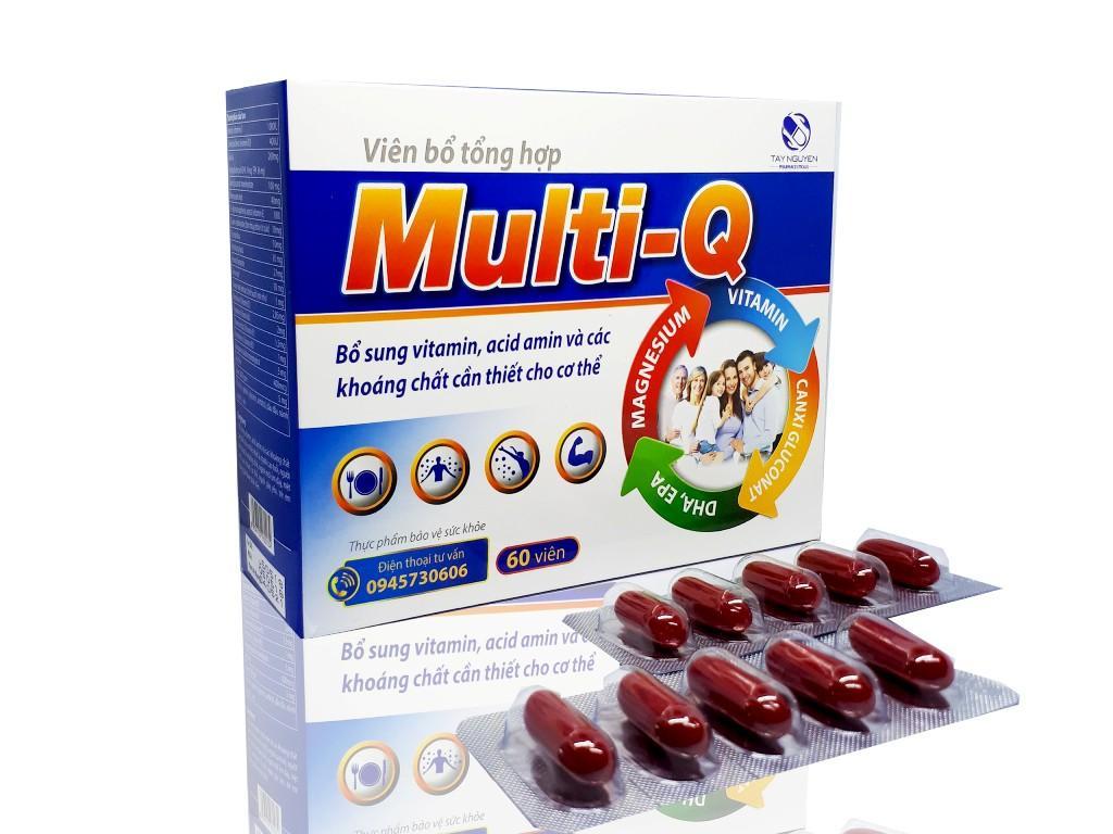 Viên uống bổ sung đa vitamin Multi - Q Hộp 60v