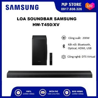 [HÀNG CHÍNH HÃNG - FREESHIP] Loa Thanh Samsung HW-T450 (200W) Kết nối Bluetooth Công nghệ DTS Virtual thumbnail