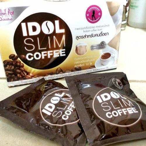 Cafe Giảm Cân - IDOL SLIM COFFEE - Thái Lan nhập khẩu