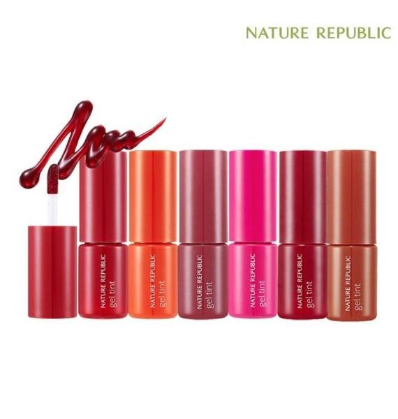 Son gel tint NATURE REPUBLIC Pure Shine Lip Tint tốt nhất