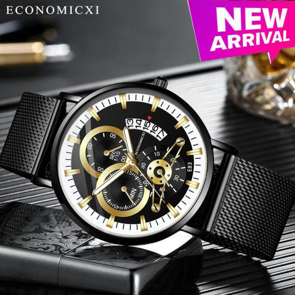 Đồng hồ nam GADYSON dây thép lụa đen chạy lịch ngày cao cấp Special Design - Đẳng Cấp Phái Mạnh ZVT01 (Full hộp) bán chạy