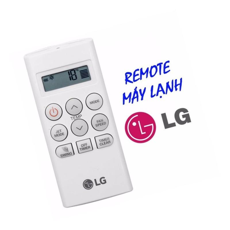 Remote điều khiển cho điều hòa LG 1 chiều (ngắn)