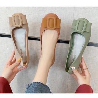 Giày búp bê nhựa mặt khóa vuông siêu xinh 2020 thumbnail