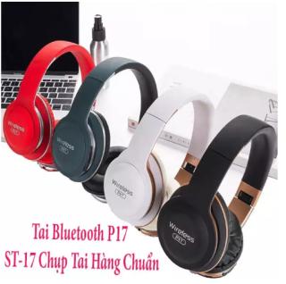 [Siêu Sale 59%] Tai Nge Bluetooth,Tai Nghetai Nghe Bluetooth,Tai Nghe Bluetooth Khong Day,Tai Nghe Buetooth,Tai Nghe Chụp Tai,Tai Nghe Có Dây,Tai Nghe Gaming,Tai Nghe Không Dây Tai Nghe Không Dây Bluetooth Chụp Tai P17-Thiết Kế Trẻ Trung Năng Động thumbnail