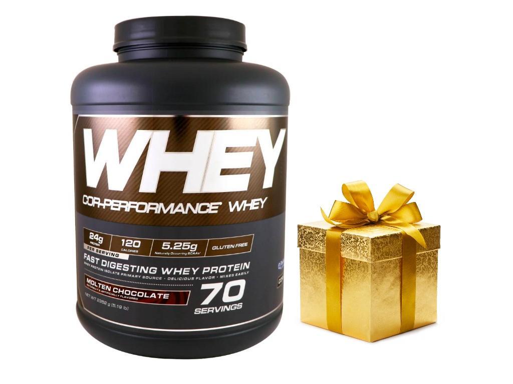 Thực phẩm bổ sung giúp tăng cơ Cor - performance Whey Molten Chocolate + Qùa tặng