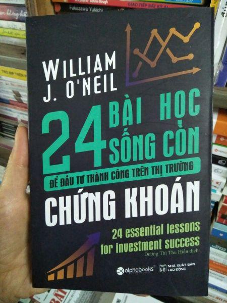 Mua 24 Bài học sống còn để đầu tư thành công trên thị trường chứng khoán