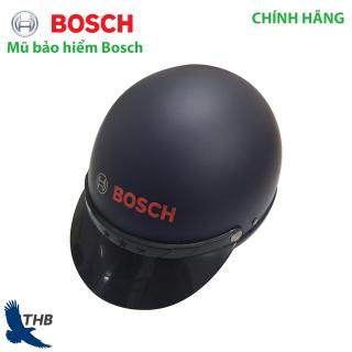 Mũ bảo hiểm Nón bảo hiểm 1 2 đi xe máy Làm việc công trường Bosch hàng chuẩn có tem CR thumbnail