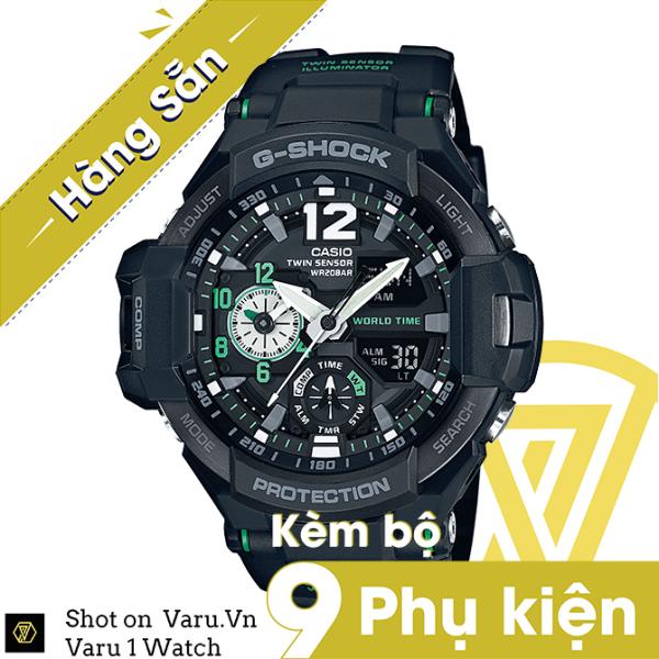 [Cao Cấp] Đồng hồ thể thao nam nữ G-Shock GA-1100-1A3 Full phụ kiện bán chạy