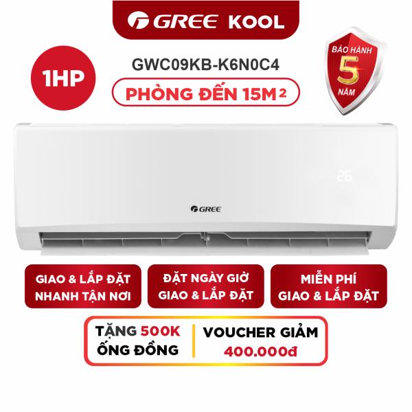 Bảng giá Máy Lạnh GREE KOLL 1.0 HP - Phù Hợp Phòng Đến 15m2
