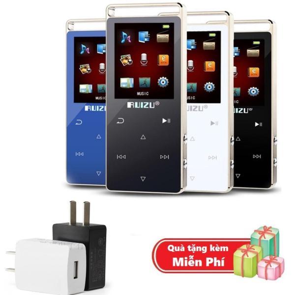 ( Quà tặng Cốc sạc điện thoại mini ) Máy nghe nhạc MP3 RUIZU D01 Bộ nhớ trong 8GB hỗ trợ thẻ nhớ tối đa 128GB