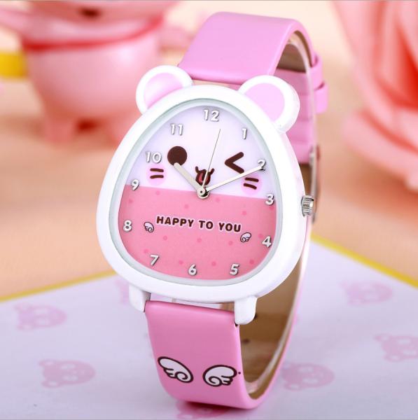 Đồng hồ trẻ em kim CHUỘT HAMSTER HÌNH THÚ  giá tốt bán chạy
