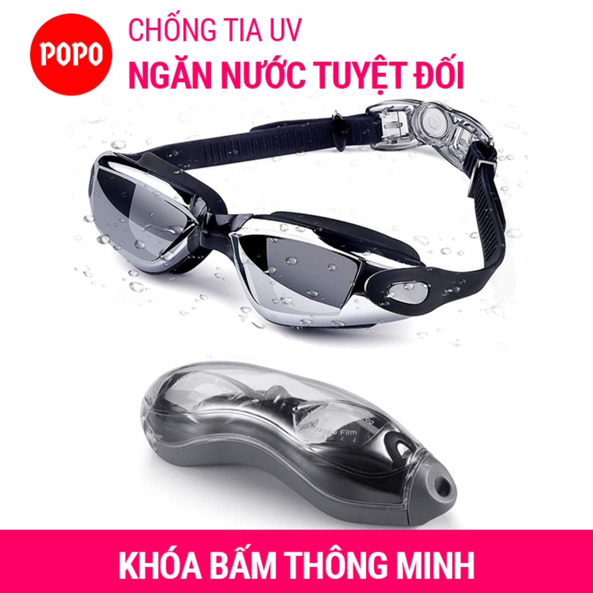 Kính Bơi Thời Trang Cao Cấp 2360 Tráng GƯƠNG Chống Tia UV Chống Hấp Hơi POPO Collection Giá Siêu Cạnh Tranh