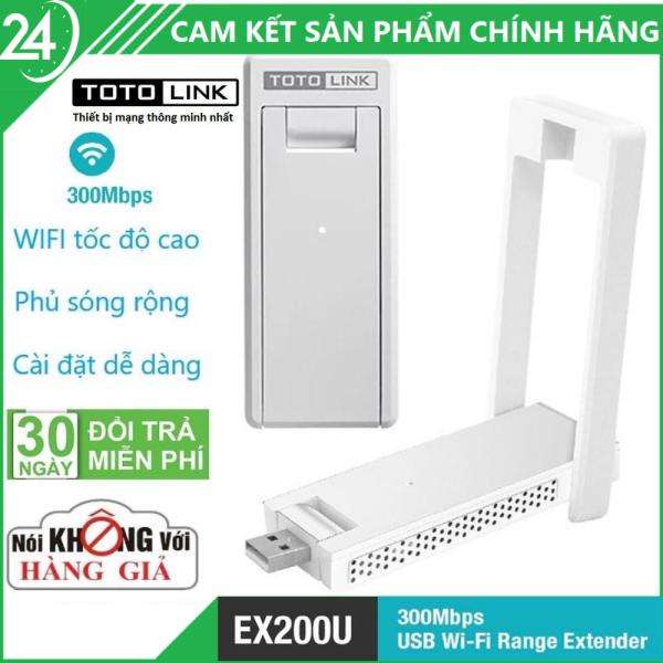 Giá Kích Sóng Wifi - Thiết bị USB mở rộng sóng WiFi Totolink EX200U