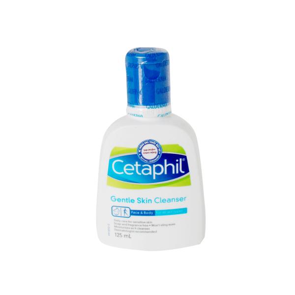 Sữa Rửa Mặt Dịu Nhẹ Cetaphil Gentle Skin Cleanser 125ML giá rẻ