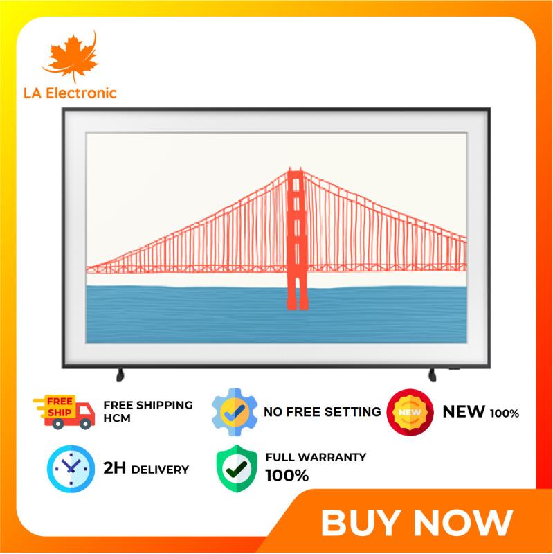 Trả Góp 0% - Smart Tivi The Frame 4K Samsung 65 Inch QA65LS03AA - Miễn phí vận chuyển HCM chính hãng