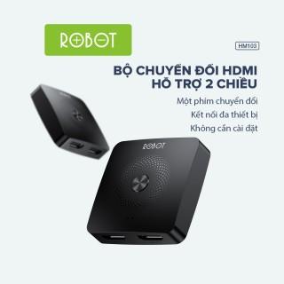 HUB Chuyển Đổi HDMI Switch Splitter Hỗ Trợ Hai Chiều ROBOT HM103 l HÀNG CHÍNH HÃNG thumbnail