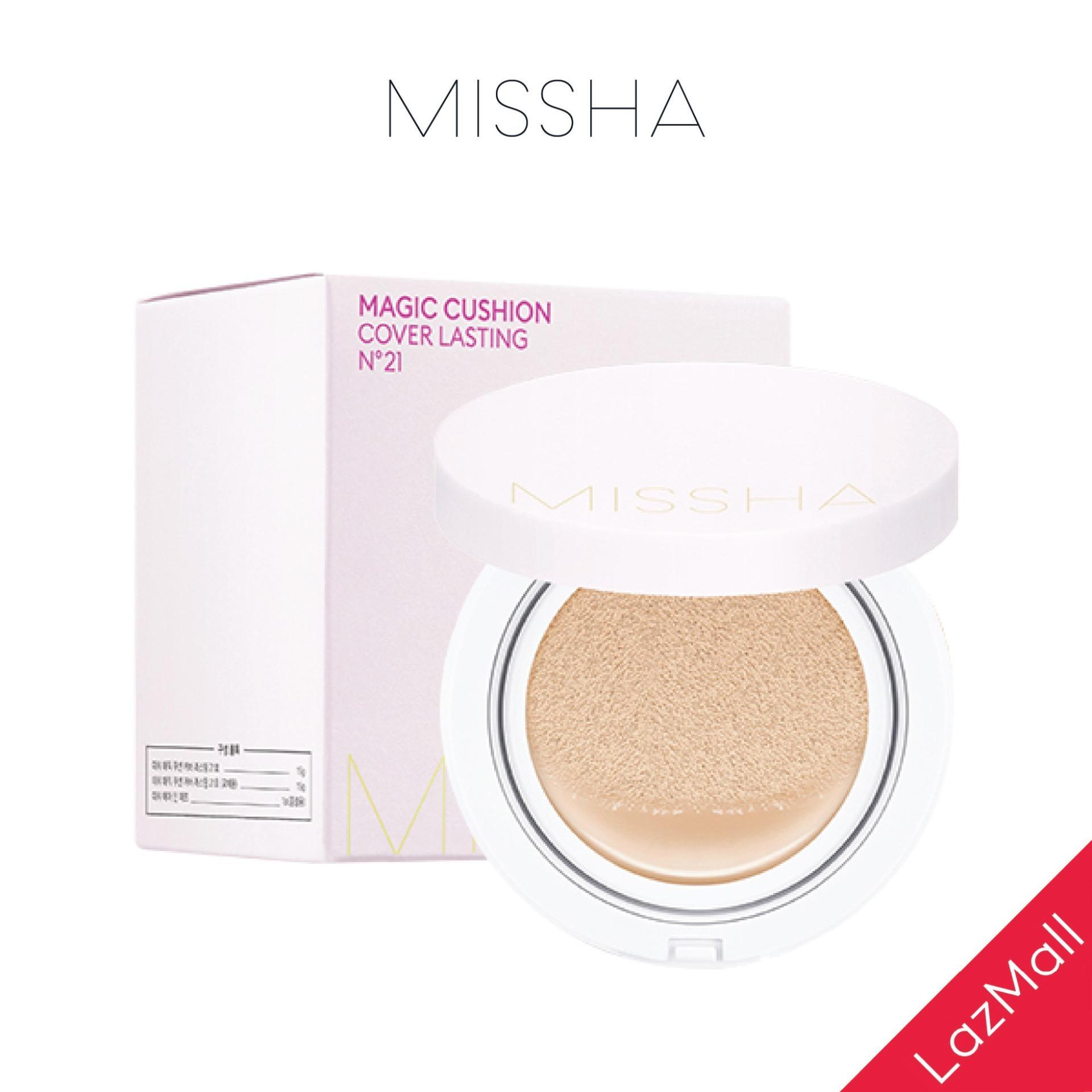 Phấn Nước Che Phủ Hoàn Kiềm Dầu Missha M Magic Cushion Cover Lasting SPF50+/PA+++ 15g tốt nhất