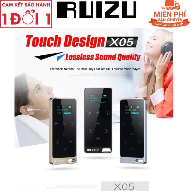 Máy nghe nhạc MP3 - Máy nghe nhạc Lossless RUIZU X05 Bộ Nhớ Trong 8GB - Ruizu X05 [Công ty nhập khẩu và phân phối] - Bảo hành 6 tháng lỗi đổi mới