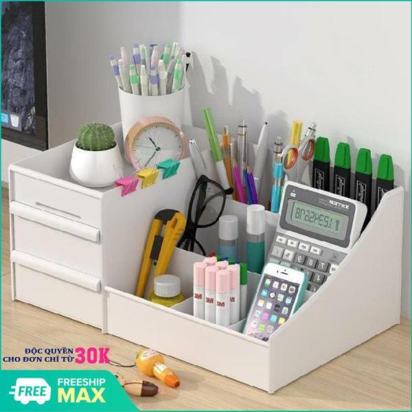 [XU THẾ PHÁI ĐẸP ] Kệ đựng mỹ phẩm, kệ đựng mỹ phẩm 3 tầng, 2 ngăn kéo, tủ đựng mỹ phẩm , kệ đựng đồ đa năng , kệ đựng đồ có ngăn kéo , kệ đa năng - Chất liệu nhựa PVC ( Giao màu ngẫu nhiên)