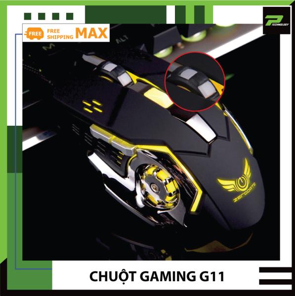 Bảng giá Chuột Chơi Game G11 Đèn LED 7 Màu Cực Bền Thiết Kế Đẹp PT Technology Phong Vũ
