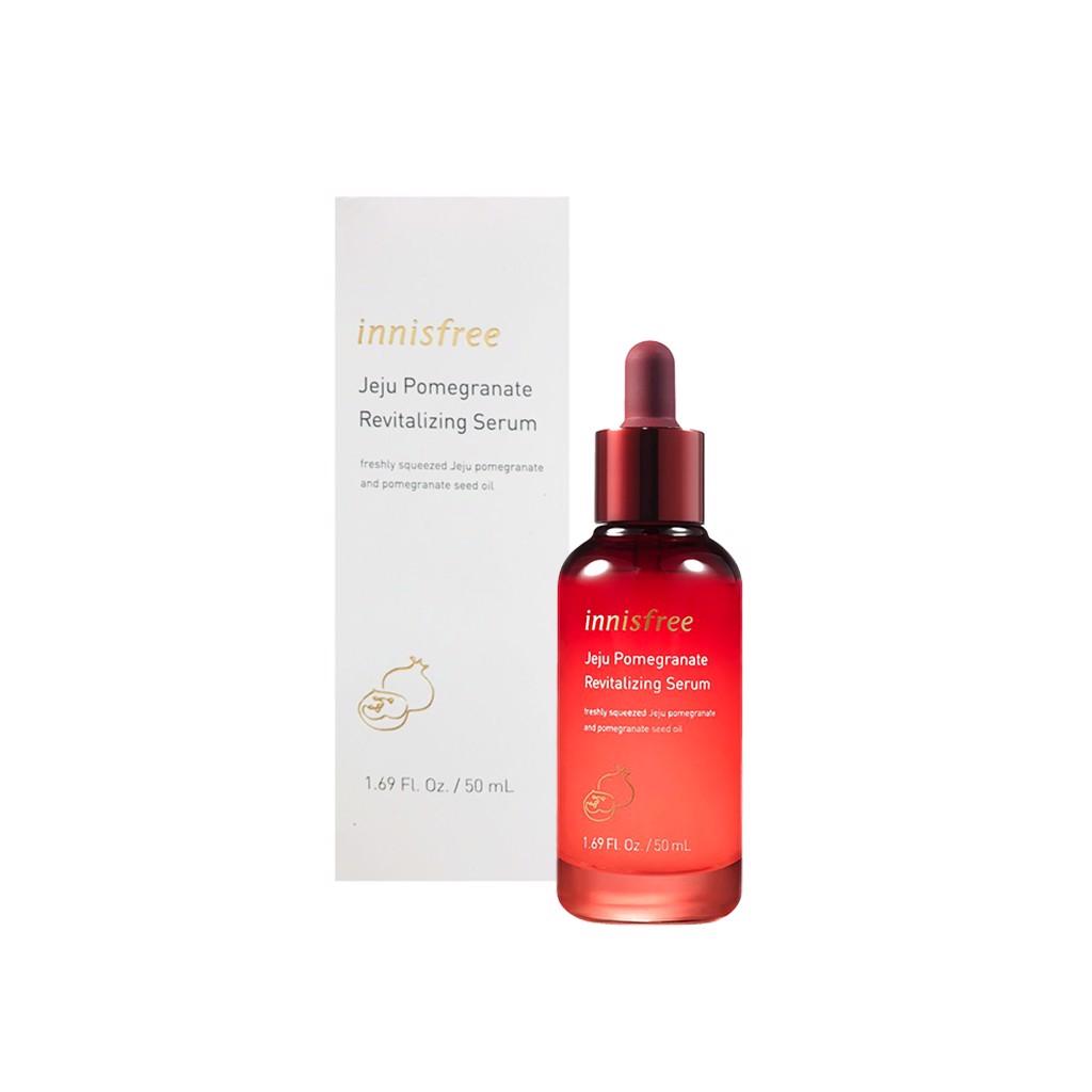 Tinh chất Innisfree Jeju Pomegranate Revitalizing Serum, tinh dầu tăng  cường khả năng bảo vệ bề mặt da, giúp làm săn chắc và tăng độ đàn hồi cho  da | Lazada.vn