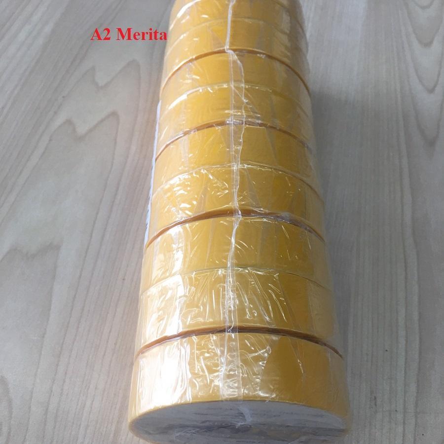 Combo 2 cây băng keo điện NANOCO 18M-20Y đủ màu sắc( 1 CÂY GỒM 10 CUỘN)