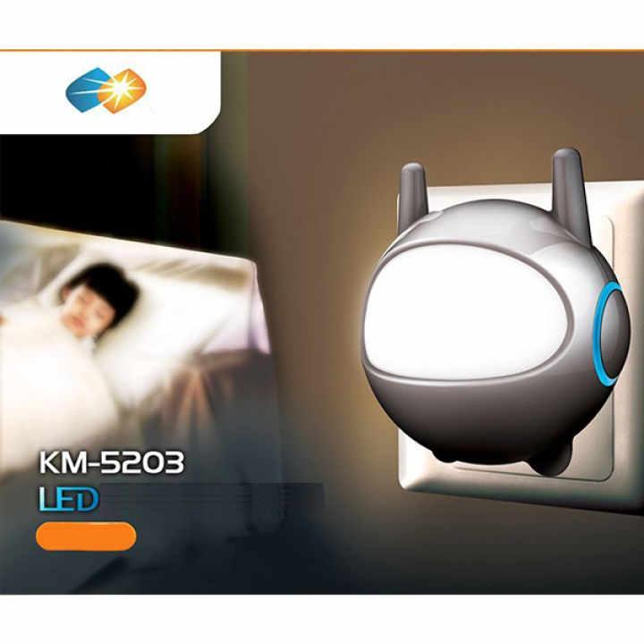 Đèn LED để bàn thông minh SUNTEK KM-S059 + Tặng kèm Đèn ngủ cảm biến ánh sáng KM-S5203 trị giá 99.000đ
