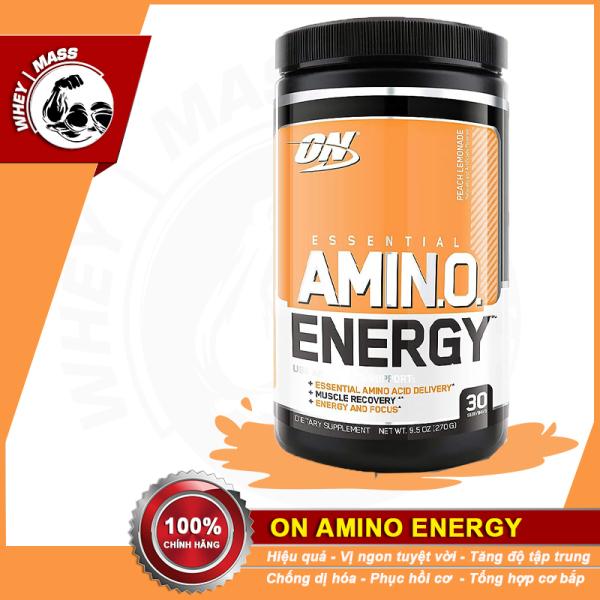 [HCM]Thực Phẩm Bổ Sung Hỗ Trợ Xây Dựng Và Phát Triển Cơ Bắp On Amino Energy 30 Lần Dùng cao cấp