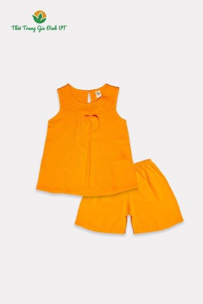 Giá bán Bộ VT quần đùi áo sát nách bé gái B62.2115