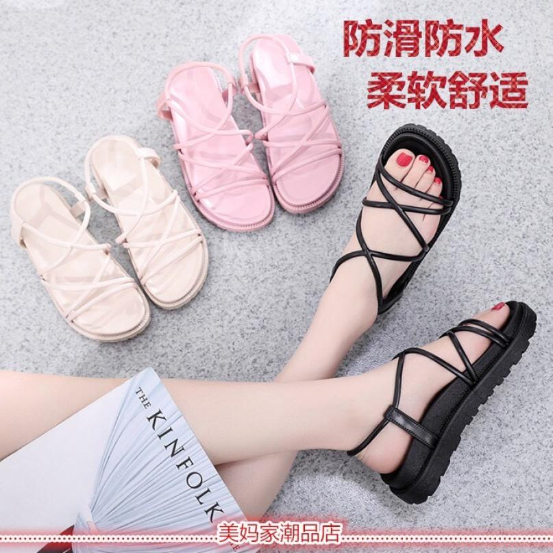 Dép sandal đế bánh mì quai nhỏ, hàng quảng châu siêu bền, đẹp và rẻ. giá rẻ
