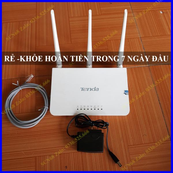 Bảng giá Bộ phát WiFi Tenda F3 3 râu 300Mbps Phong Vũ