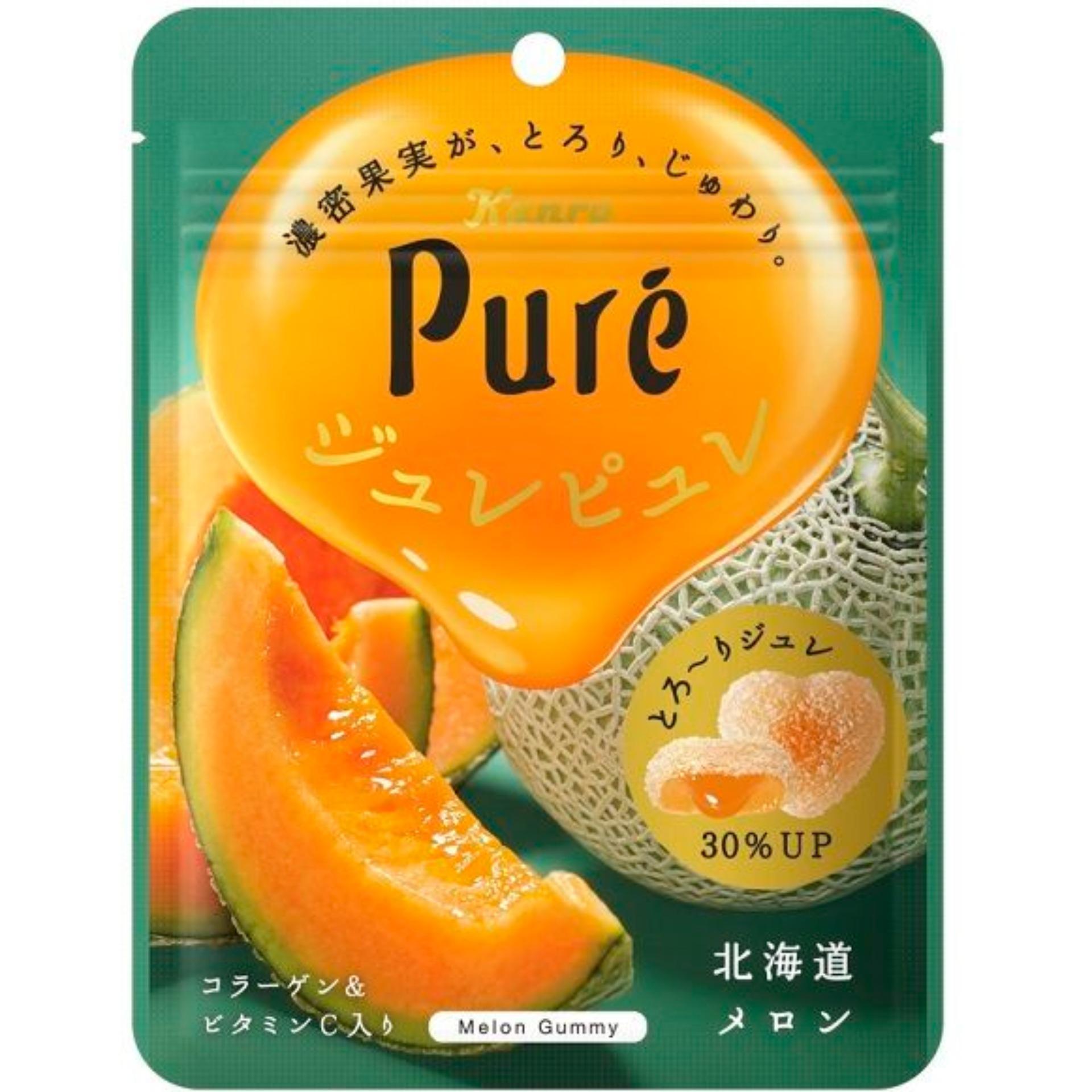 Kẹo dẻo Pure vị Melon Hokkaido
