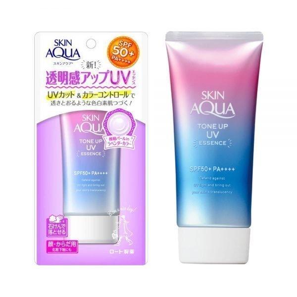 Kem chống nắng Skin Aqua Tone up SPF 50++++ Nâng tone, làm trắng da, điều chỉnh