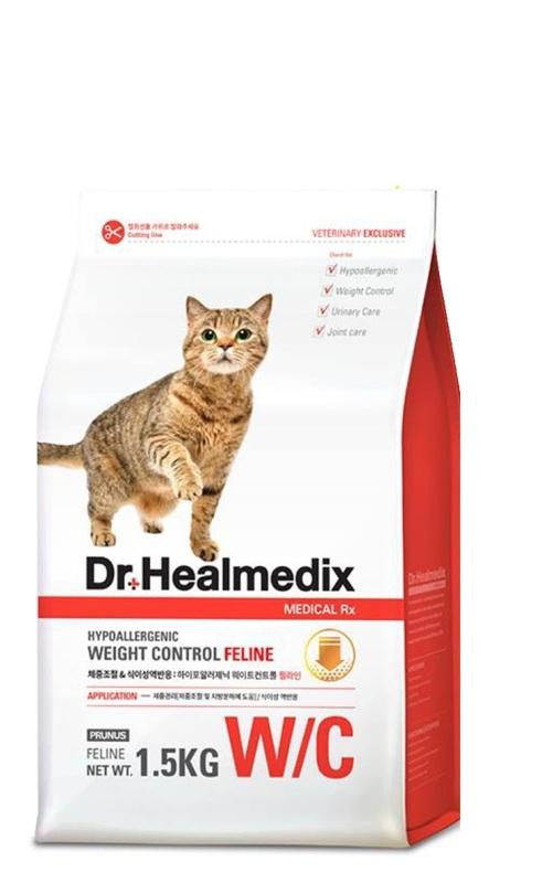 Thức ăn hạt cho mèo Dr. Healmedix Weight Control Feline 1.5kg - Quản lý cân nặng