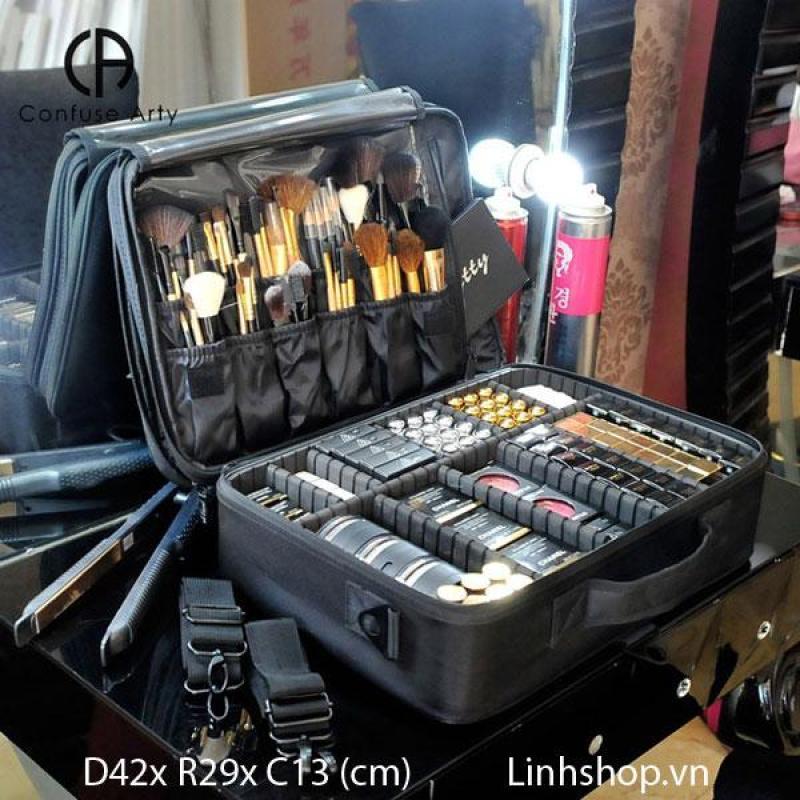 [Size lớn] Cốp trang điểm vali đa năng siêu nhẹ nhiều ngăn nhập khẩu