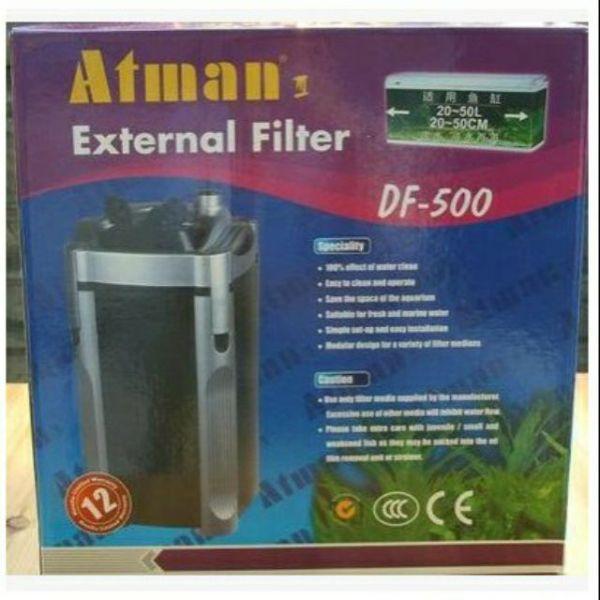 Lọc thùng Atman DF 500 công suất 14.5w dùng cho hồ thủy sinh 50 - 70cm cam kết hàng đúng mô tả chất lượng đảm bảo