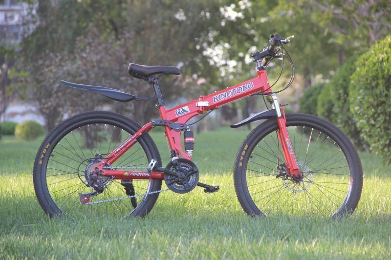 Mua Xe đạp thể thao địa hình gấp gọn HaHoo-Màu Cam
